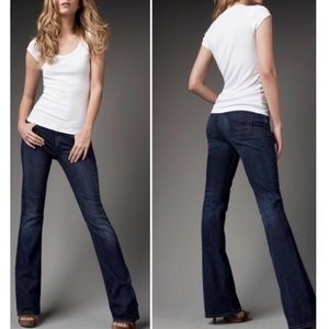 COH Amber High Rise Boot Cut Dark Wash Denim Jeans